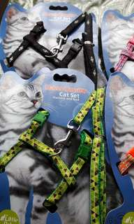 Pet collar leash giftset
