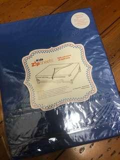 Standard Cot Zip Sheet