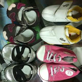 Branded shoes for 8-12 mos