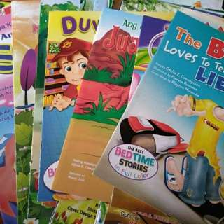 Story Books/Activity Books for KIDS!!