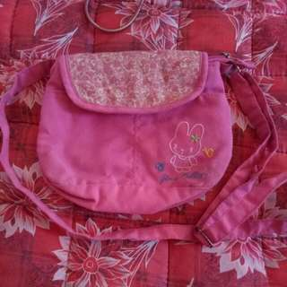 PINK GINI RABBIT SLING BAG FOR KIDS