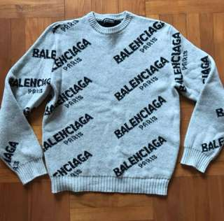 專櫃貨 Balenciaga 男裝Knitwear