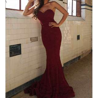 Amore Gown Wine by Jadore RRP $399