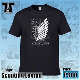 Attack on Titans - Scouting Legion Black T-Shirt