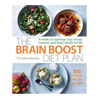 (Ebook) The Brain Boost Diet Plan by Christine Bailey