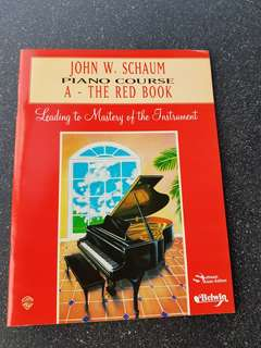 The Red Book, 🎹 Piano Course A/Grade 1 by JohnW. Schaum