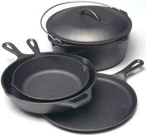 Lodge Cast Iron Round Griddle, 10.5-inch