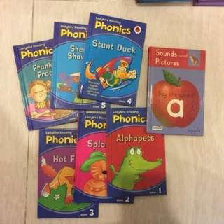 "30% disc Package Offer -7books Ladybird Phonics Book1-6, Sound ""a"""