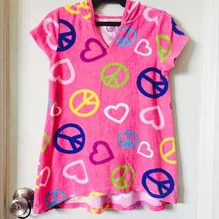 Kids Towel Cover Up Hoodie