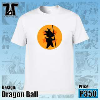 Dragon Ball White T-Shirt