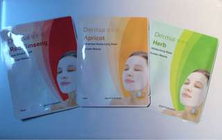 Dermal sheet mask