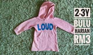 2-3y hoodie sweater