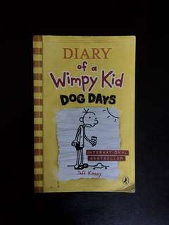 Diary of a Wimpy Kid — Dog Days by Jeff Kinney