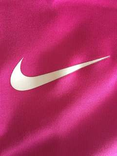 XS PINK NIKE PRO DRI FIT SPORTS BRA