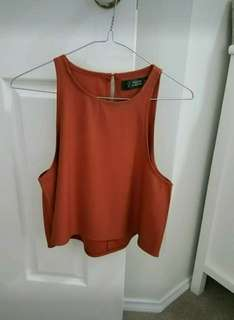 WORN ONCE - DRESSY TOP