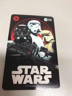 BN Star Wars EZLink card- no value
