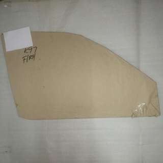 PERODUA KANCIL FRONT DOOR GLASS GREEN LH OR RH GENUINE PART