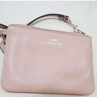Coach Wristlet Bag (Pink)