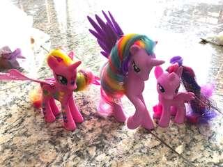 My Little Pony - set of 3