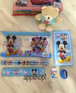 Mickey stationary set- goodies bag, goody bag packages