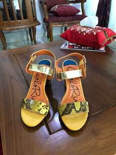 Carlo rino mustard shoes
