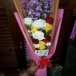 Handbuqet mawar/bunga wisuda/kado ultah
