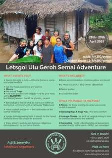 Adventure Trip Organiser
