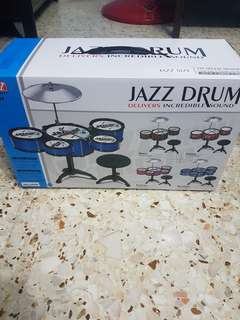 Mini Jazz Drum Set