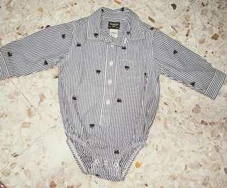Oshkosh front button bodysuit