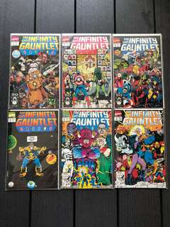 Infinity gauntlet complete 1-6 NM