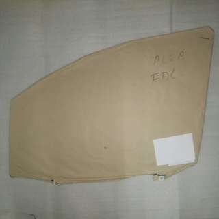 PERODUA ALZA FRONT DOOR GLASS LH OR RH GENUINE PART