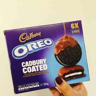 Oreo Cadbury Coated