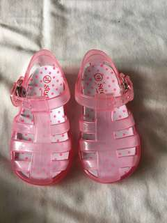 Seed Pink Girls Sandals