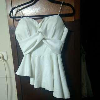 White Closet bustier