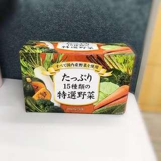 熱爆網絡:日本15特選野菜粉!原價$880,團購價$750!