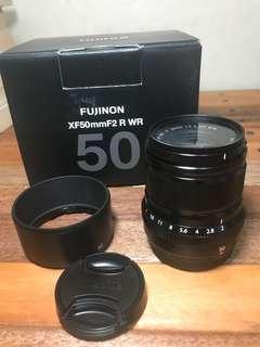Fujifilm Fujinon XF 50mm F2 WR (Black)