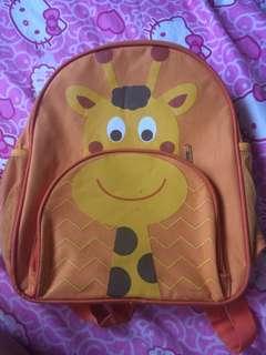 Giraffe orange bag