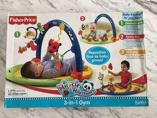 Fisher price baby play gym / kick mat