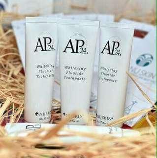Peroxide-free Whitening Flouride Toothpaste