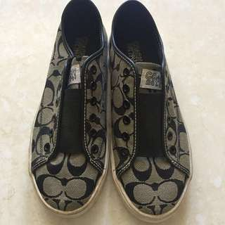Coach Slip-on Sneakers (Size 8)