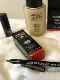 Makeup Forever Foundation, Lipstick, or Eyeliner