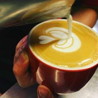 4月份初階咖啡拉花課程 興趣班