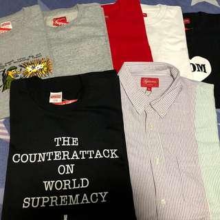 Supreme Tee & Shirt