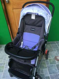 Preloved EUC STILL LOOKS NEW Good Baby( fr BABY COMPANY) w/ FREE MATRESS WORTH P600!