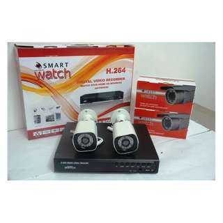 CCTV Package 720P HD with 500GB HDD(2 Outdoor Cam B013W)