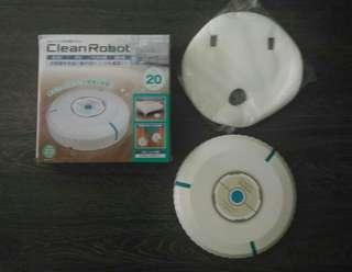 日式自動掃地除塵機器人