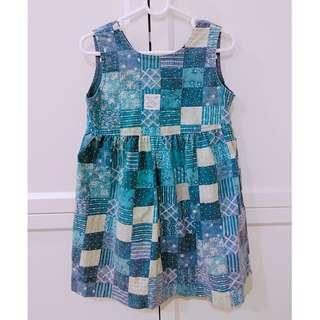 Ralph Lauren 拼布 背心裙 洋裝