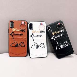 韓國直送!Snoopy iPhone Case
