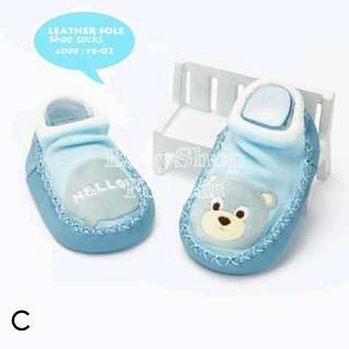 Baby Leather Sole Shoes - C