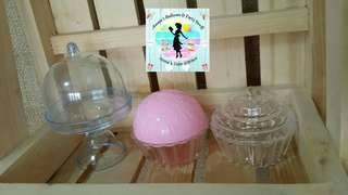 36 Cute Mini-Cake, Mini-Cupcake, Candy Containers for Parties